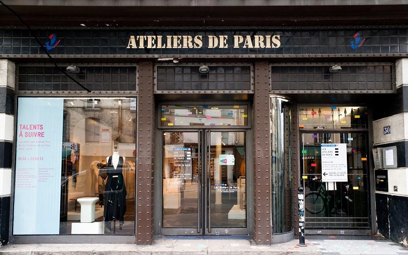 Façade Atelier de Paris